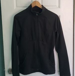 The North Face Black zip Sweater